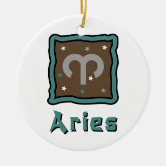 Ornamento do sinal do zodíaco do Aries