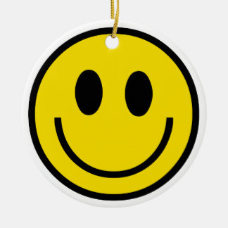 Ornamento do sorriso do smiley