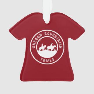 """Ornamento do t-shirt do """"VOLUNTÁRIO"""""""