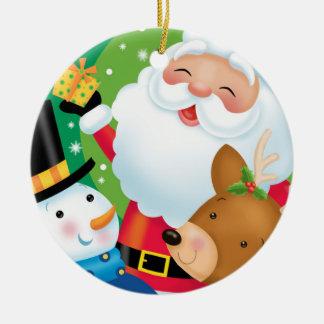 Ornamento do trio do Natal