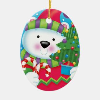 Ornamento do urso polar