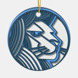 Ornamento do zodíaco de Leo