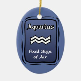 Ornamento do zodíaco do Aquário