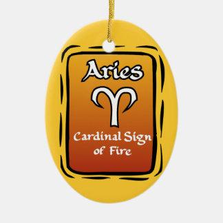 Ornamento do zodíaco do Aries