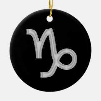 Ornamento do zodíaco do Capricórnio