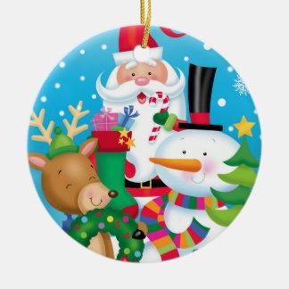 Ornamento dos amigos do Natal