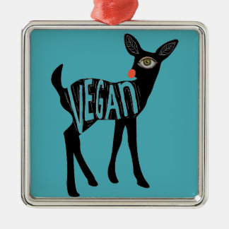 Ornamento dos cervos de Rudolph do Vegan