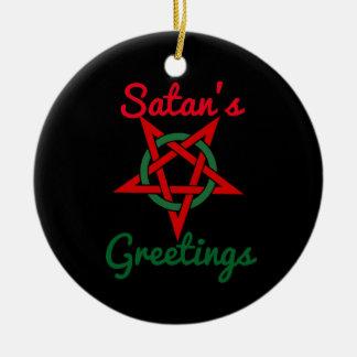 Ornamento dos cumprimentos da satã