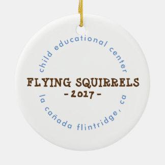 Ornamento dos esquilos de vôo 2017