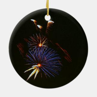 Ornamento dos fogos-de-artifício