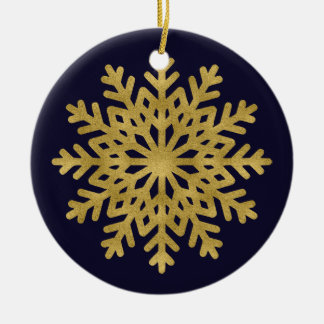 Ornamento elegante do círculo do feriado do floco