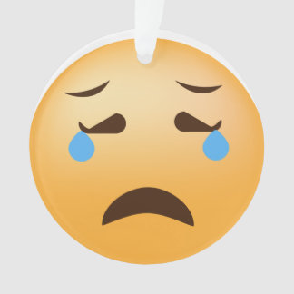 Ornamento Emoji triste