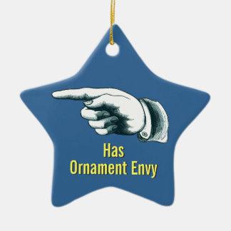 Ornamento engraçado da árvore de Natal
