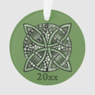Ornamento Escolha seu teste padrão decorativo do nó celta da