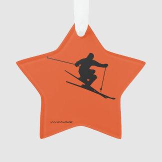 Ornamento Esquiador