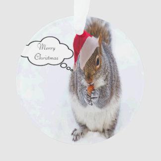Ornamento Esquilo do feriado