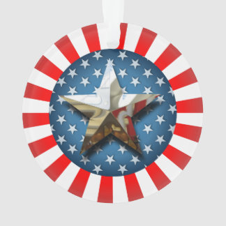 Ornamento Estilo star spangled
