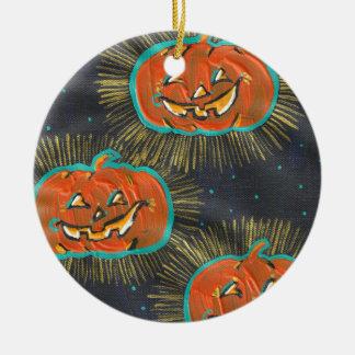 Ornamento estrelado do Dia das Bruxas dos jaques