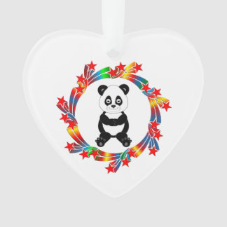 Ornamento Estrelas da panda