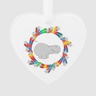 Ornamento Estrelas do hipopótamo