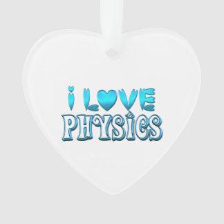 Ornamento Eu amo a física