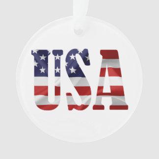Ornamento EUA patrióticos
