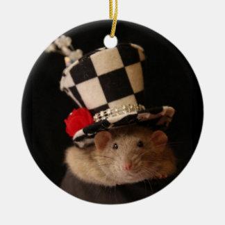 Ornamento extravagante do rato