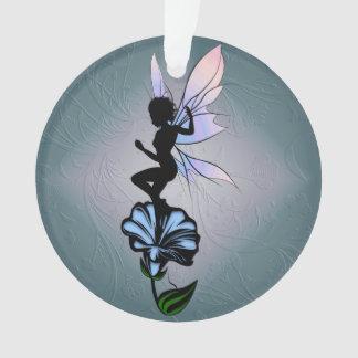 Ornamento Fada da sombra da corriola e gato cósmico