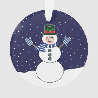 Ornamento feito sob encomenda da imagem do Natal