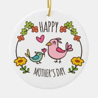 Ornamento feliz adorável do dia das mães |