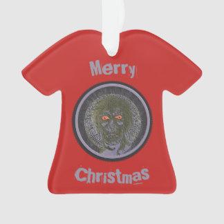 Ornamento Feliz Natal - Vampire. do zombi