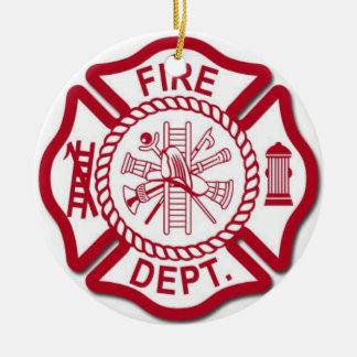 Ornamento fêmea do sapador-bombeiro