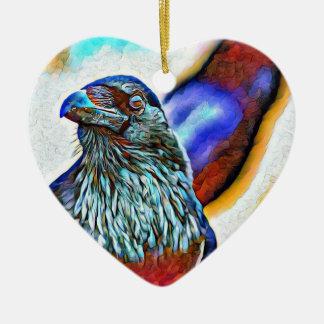 Ornamento festivo do feriado do corvo