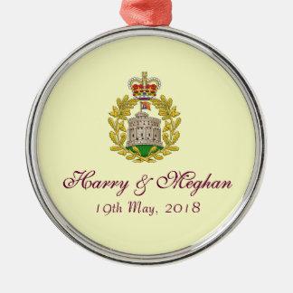 Ornamento fino de Harry e do casamento real de