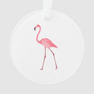 Ornamento Flamingo cor-de-rosa bonito