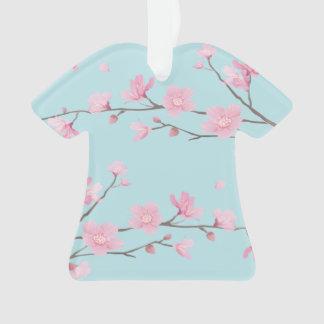 Ornamento Flor de cerejeira - azul-céu - FELIZ ANIVERSARIO