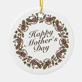 Ornamento floral da grinalda | do dia das mães