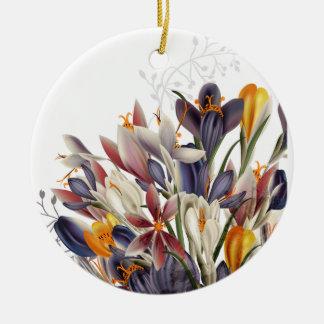 Ornamento floral da melhor mamã do mundo