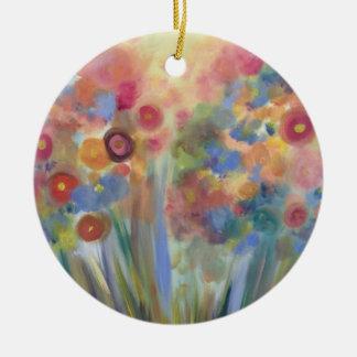 Ornamento floral do esplendor