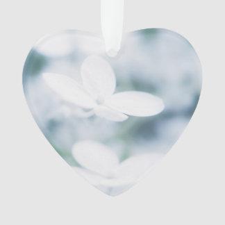Ornamento Flores brancas bonitas do hydrangea