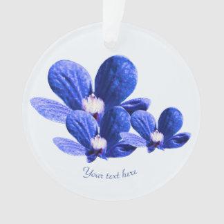 Ornamento Flores selvagens azuis