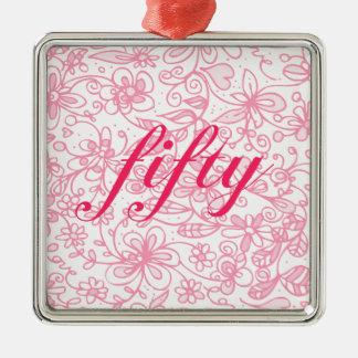 Ornamento florido fabuloso de cinqüênta prêmios
