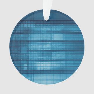Ornamento Fundo do mosaico da tecnologia como uma arte do