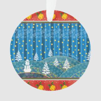 Ornamento Fundo mágico do Natal