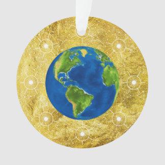 Ornamento Globo dourado da árvore de Jesse