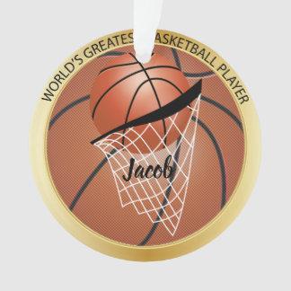 Ornamento Grande jogador de basquetebol