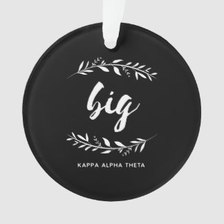 Ornamento Grinalda grande alfa da teta | do Kappa