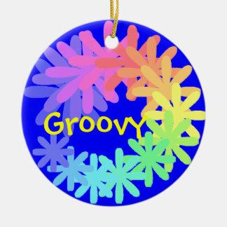 Ornamento Groovy dos anos 60