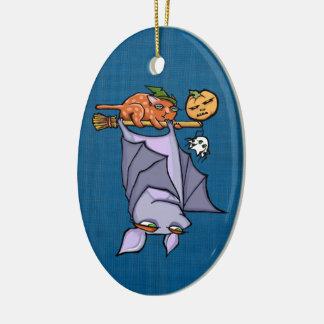 Ornamento Grouchy do Oval do Dia das Bruxas do