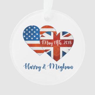 Ornamento Harry & casamento de Meghan, o 19 de maio de 2018